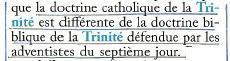 Doctrine biblique
