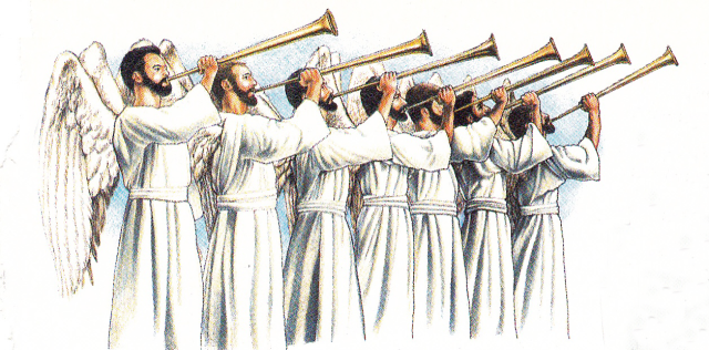 Seven-Trumpets-of-the-Book-of-Revelation
